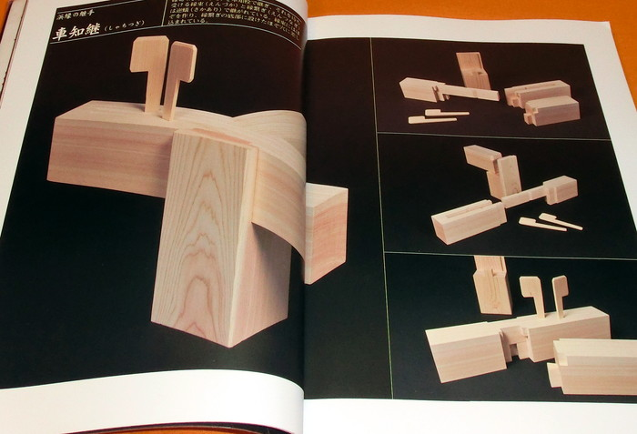 Wooden joints book