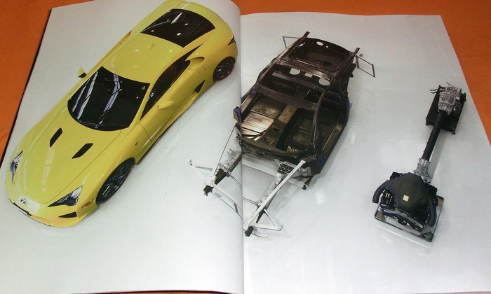 Lexus Lfa How Was It Made Book From Japan Japanese Toyota Books