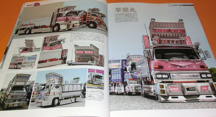 MODEL CARS SCALE TRUCKS : Back to the 80s book plastic model japanese